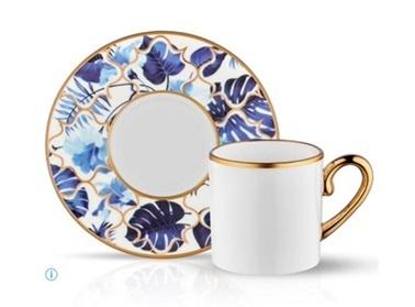 Koleksiyon Eva Mavi Amazon  6'Lı Türk Kahvesi Takımı Mavi